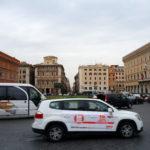 O caos controlado do trânsito em Roma