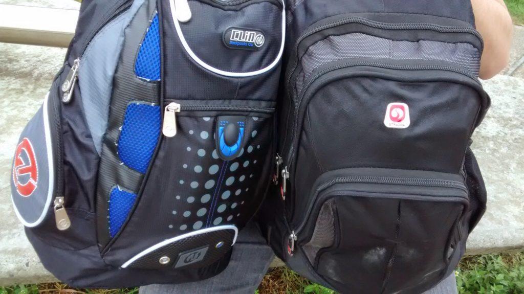 Nossas mochilas em Belo Horizonte, Minas Gerais