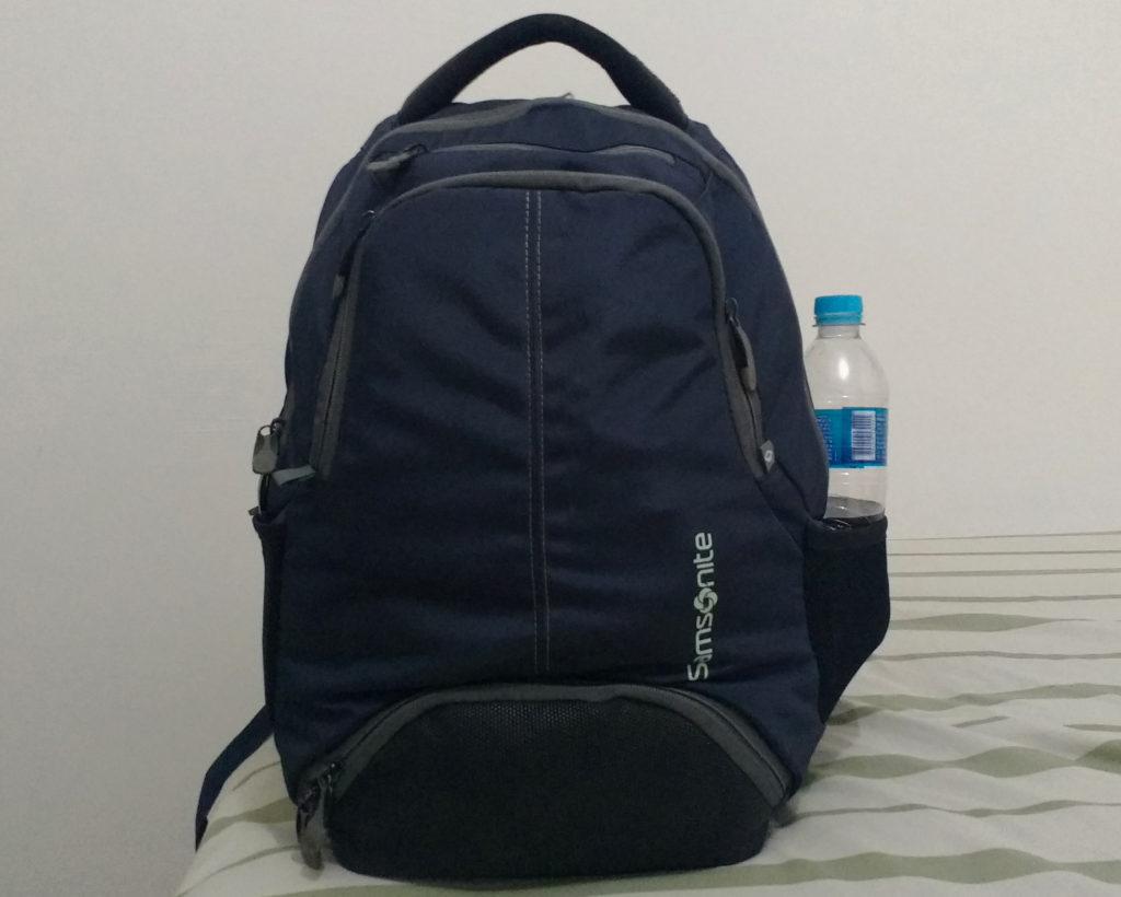 Minha mochila para uma semana na Itália