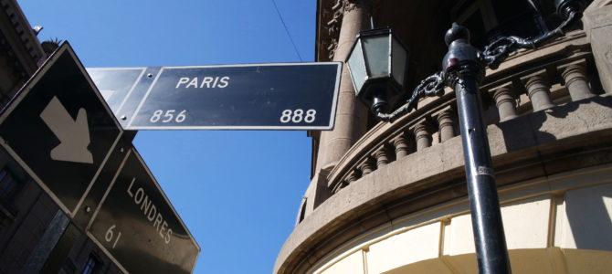 Bairro Paris Londres, em Santiago do Chile