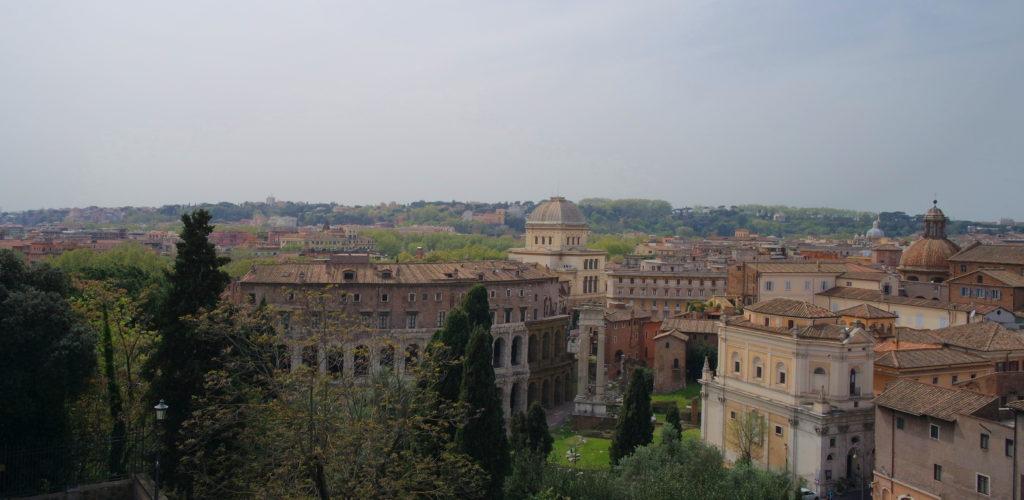 Roma vista do Monte Capitolino