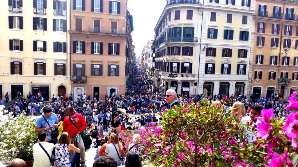 Roma - piazza Spagna