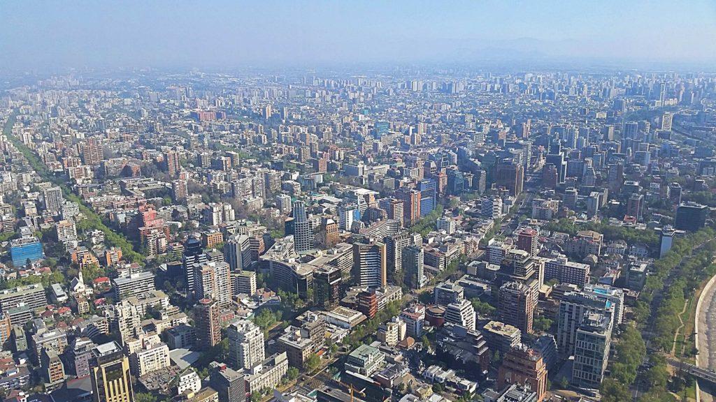 Santiago - sky costanera