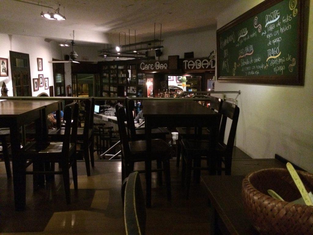 Bar café Tabaré