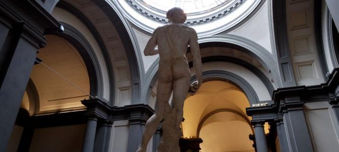 A agradável visita à Galleria dell'Academia, em Florença