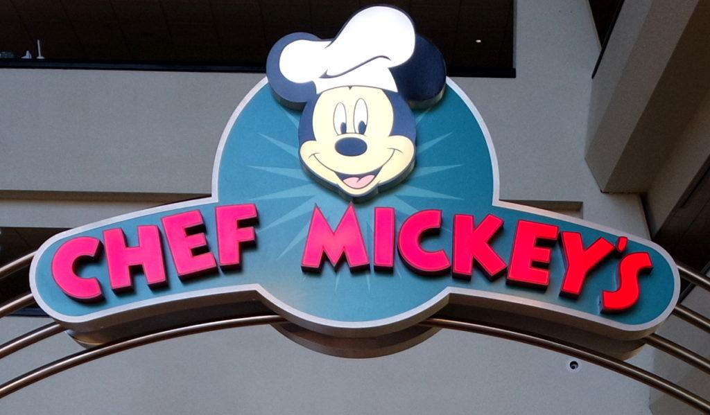 Símbolo Chef Mickey's