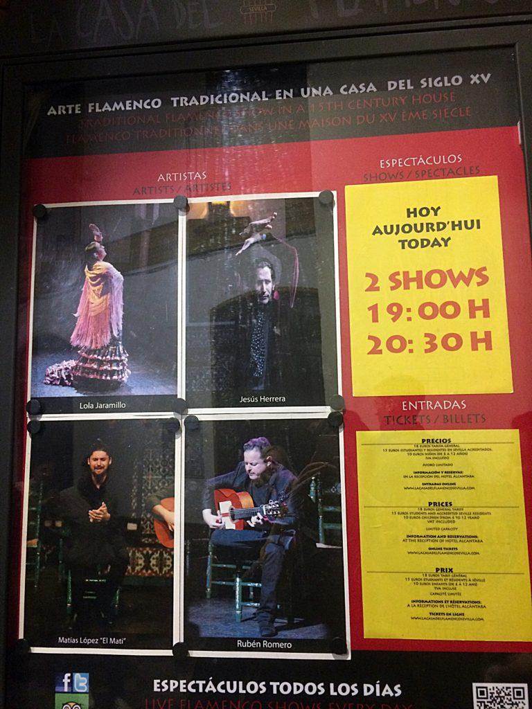 cartaz flamenco