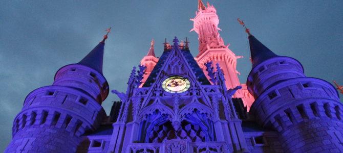 Horários nos parques Disney e Universal