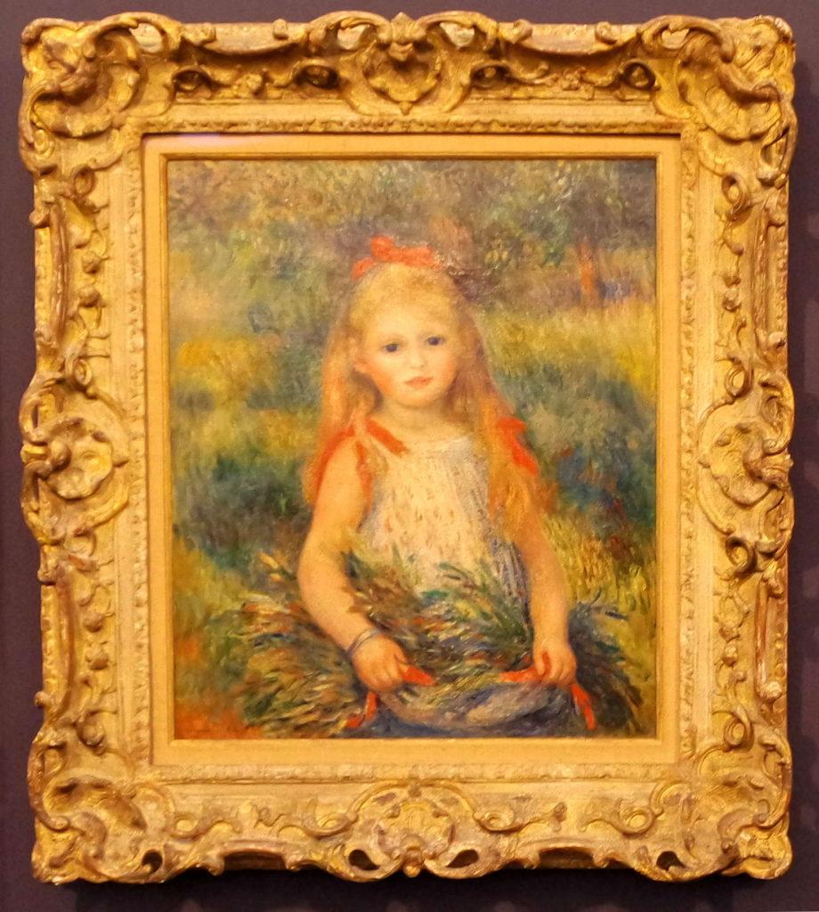 Retrato impressionista de Renoir