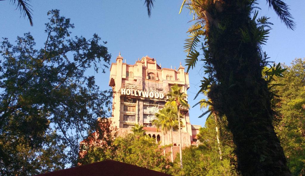 O hotel mal-assombrado da Torre do Terror