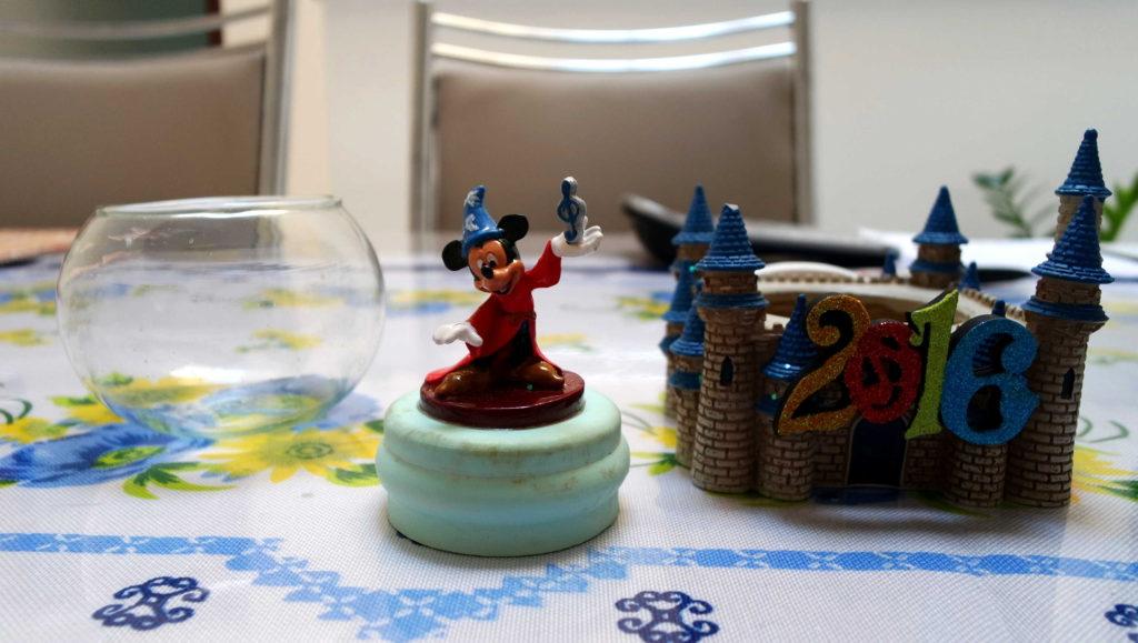 Mickey mago e o mini aquário