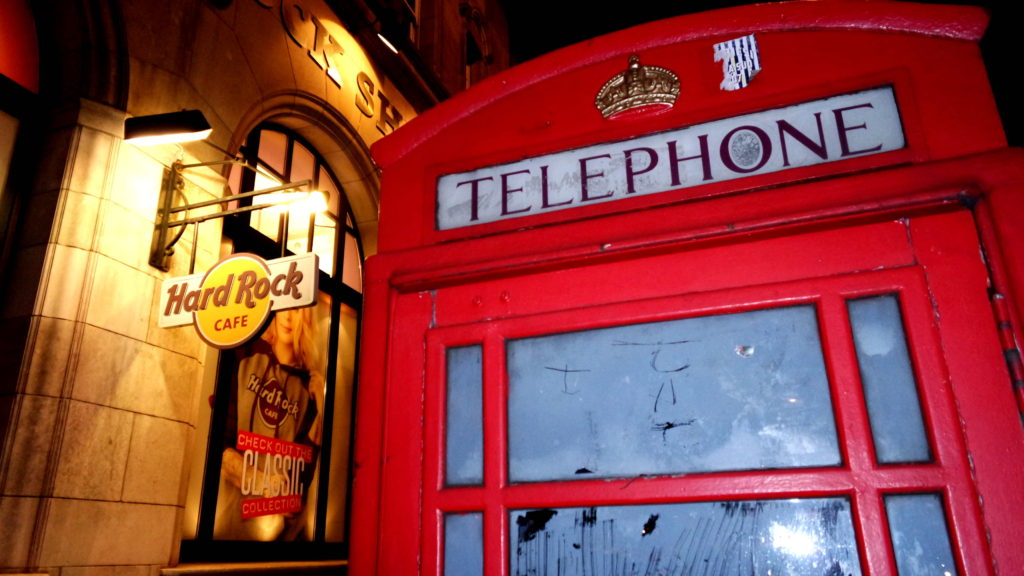 Loja hard rock café Londres