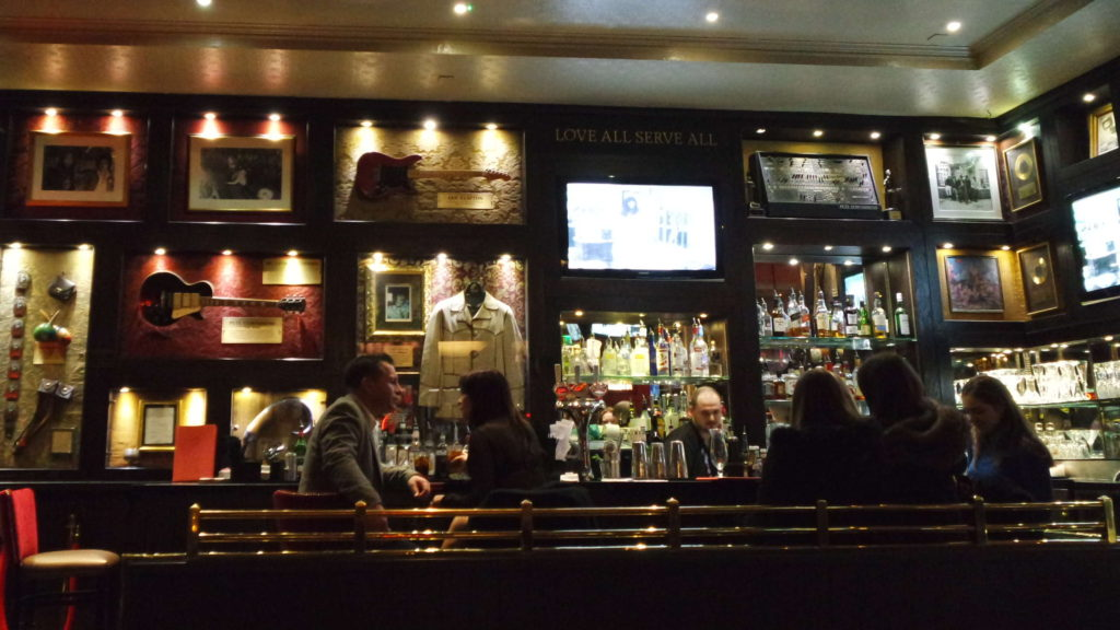 bar do Hard Rock Café Londres
