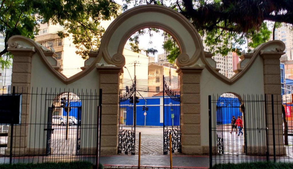 Portão Passeio Público de Curitiba