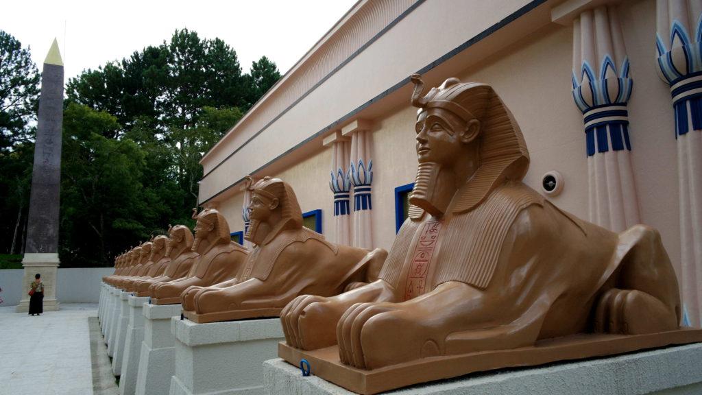 Pátio do Museu Egípcio e Rosacruz