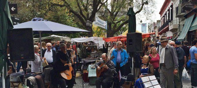 Passeio de domingo em Buenos Aires – Feira de San Telmo