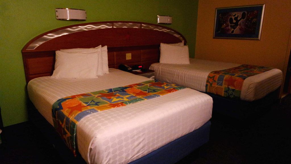 Quarto do hotel Disney All Star Music Resort