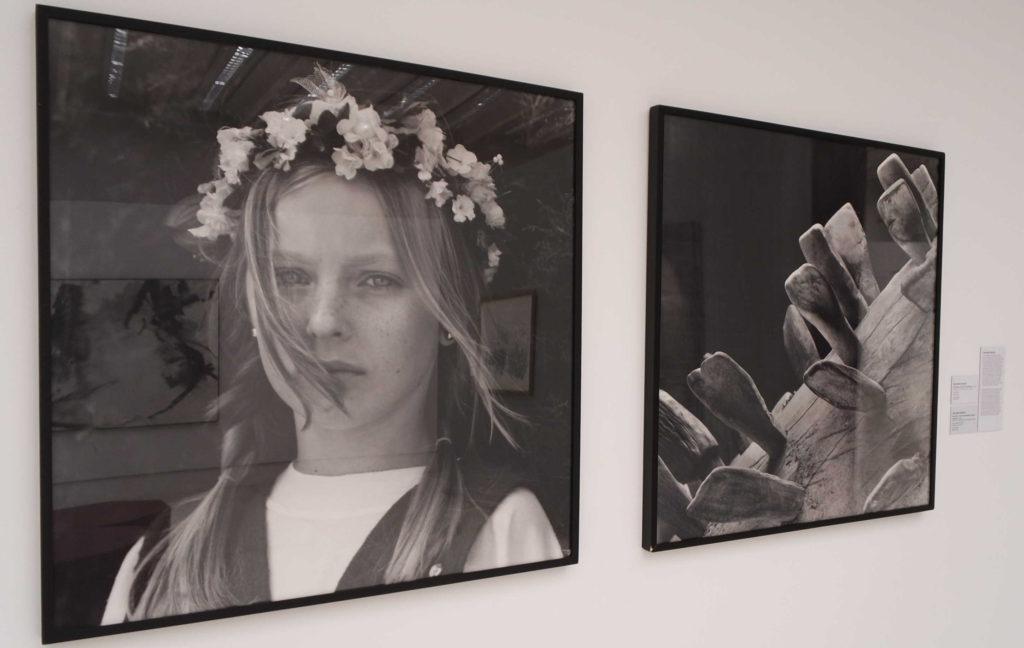 Fotografias de Orlando Azevedo: Rita Fialek (esq.) e foto sem título (dir.)