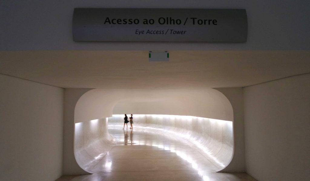 Túnel de Acesso ao Olho