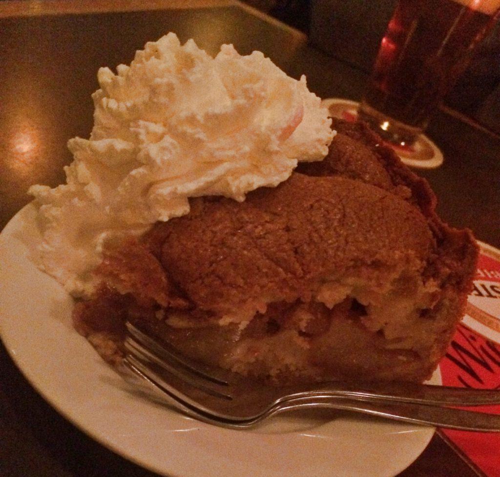 Torta de maçã em Amsterdam