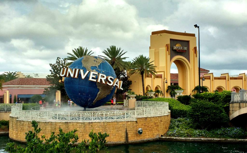 O clássico globo da Universal