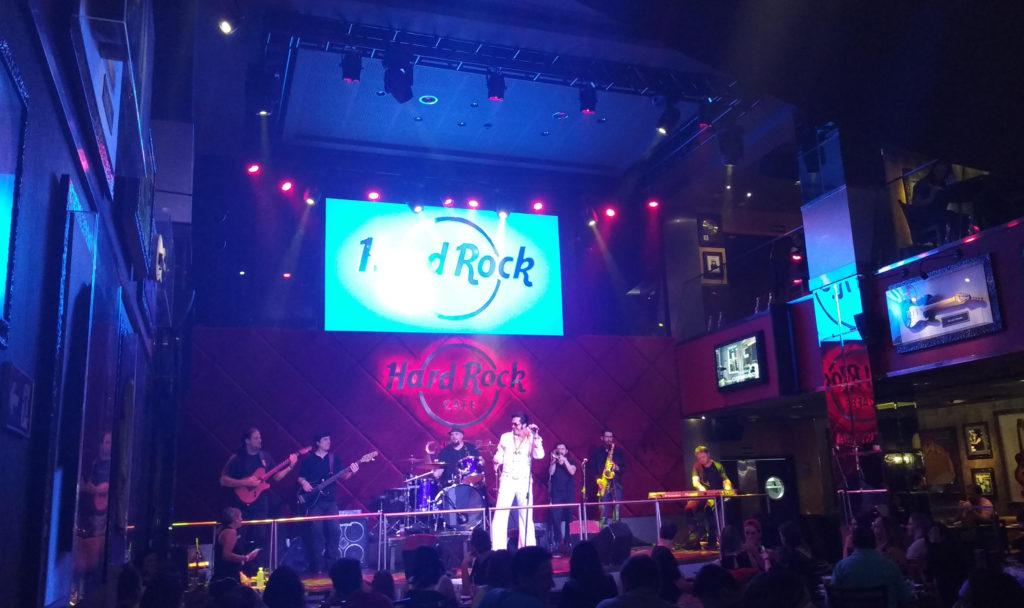 Música ao vivo hard Rock Café Curitiba