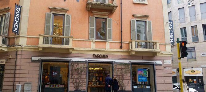 Inclua no seu roteiro de Milão: Taschen Livraria