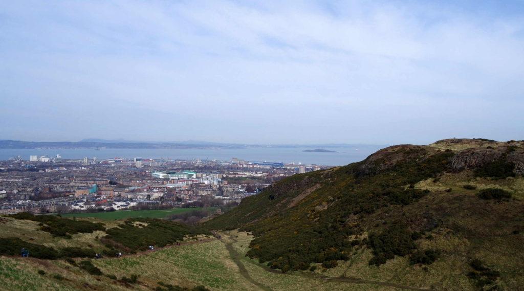 Mar do Norte e Edimburgo
