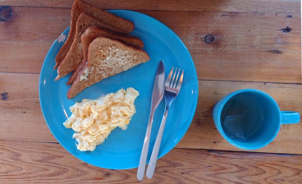 Café da Manhã no Baxter Hostel