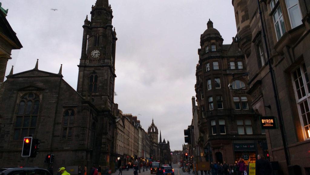 Edimburgo arquitetura sombria