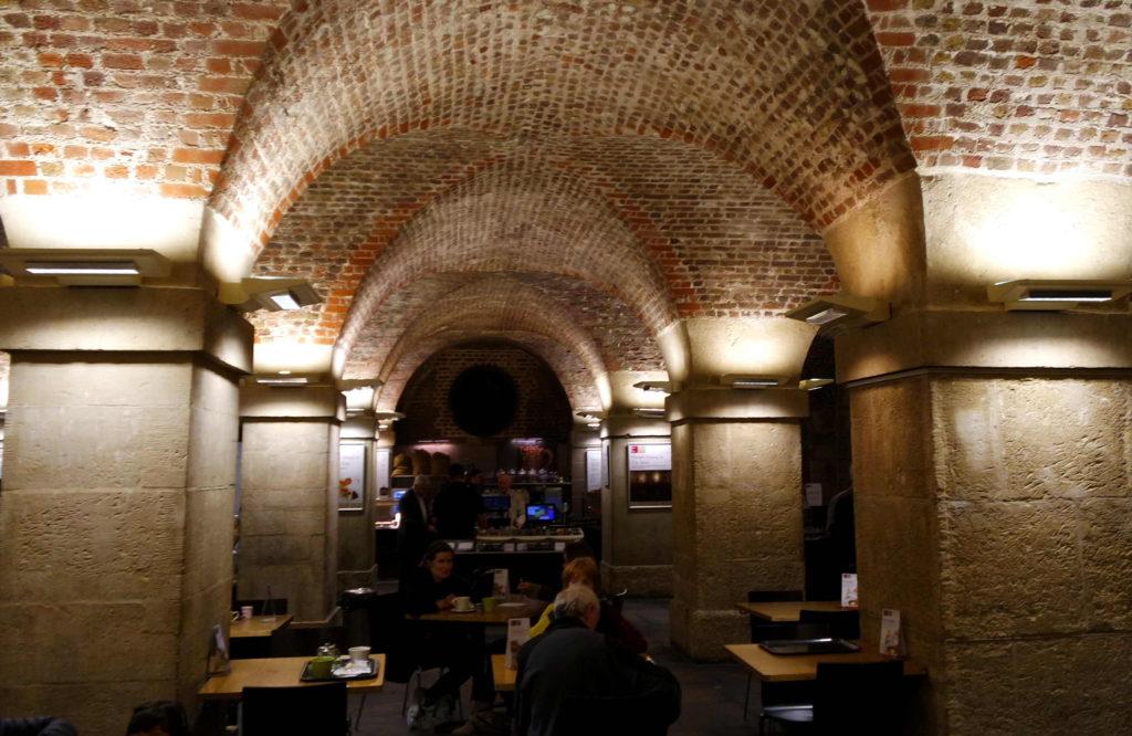 Cripta Café in the Crypt