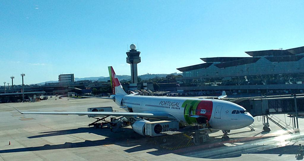 Avião da tap portugal