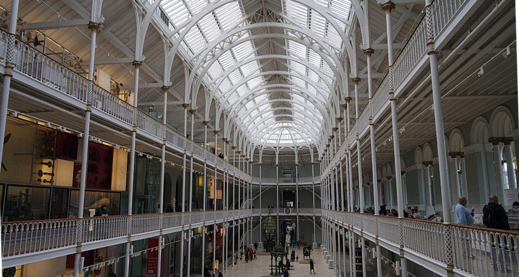 Hall Museu Nacional da Escócia