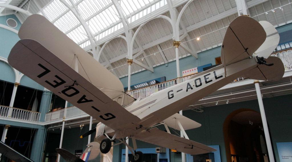 Aviões no museu nacional da escócia