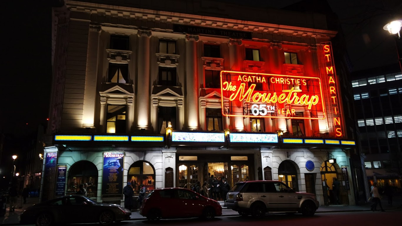St Martins Theatre, em Londres
