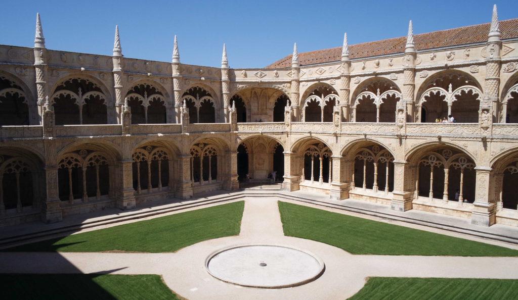 Claustro do Mosteiro dos Jeronimos