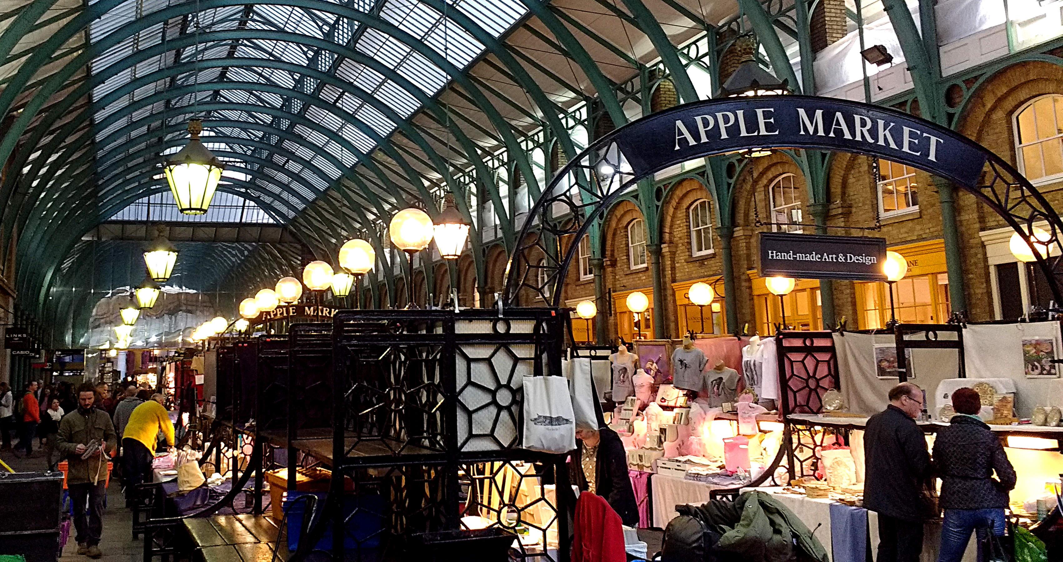Interior do Convent Garden Market