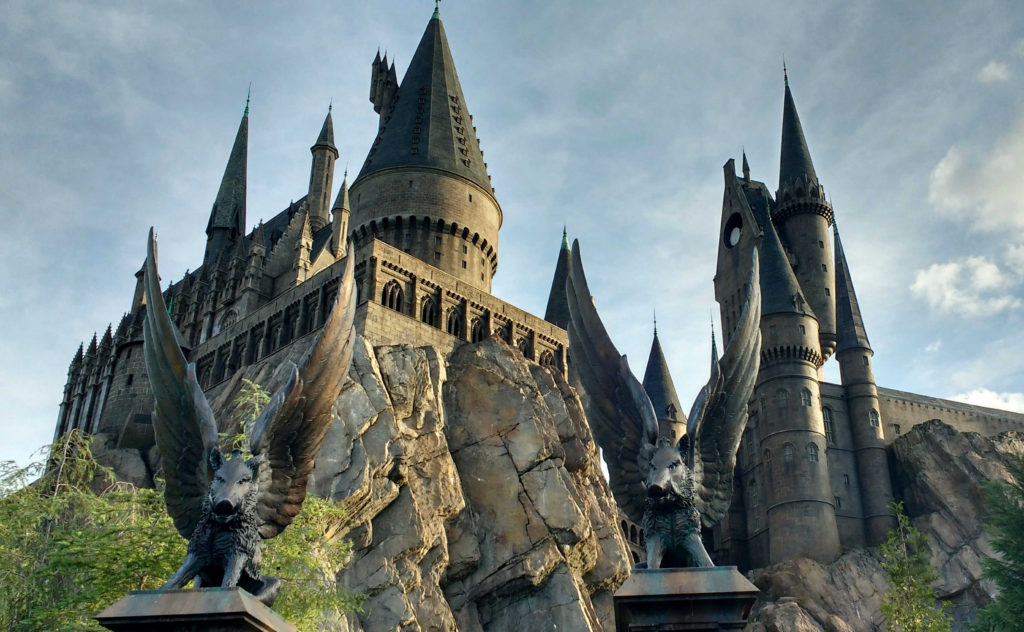 Castelo de Hogwarts Islands of Adventure