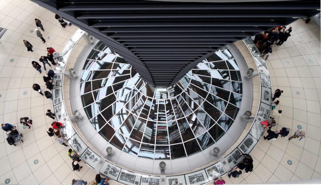Dentro do Reischtag, Parlamento Alemão