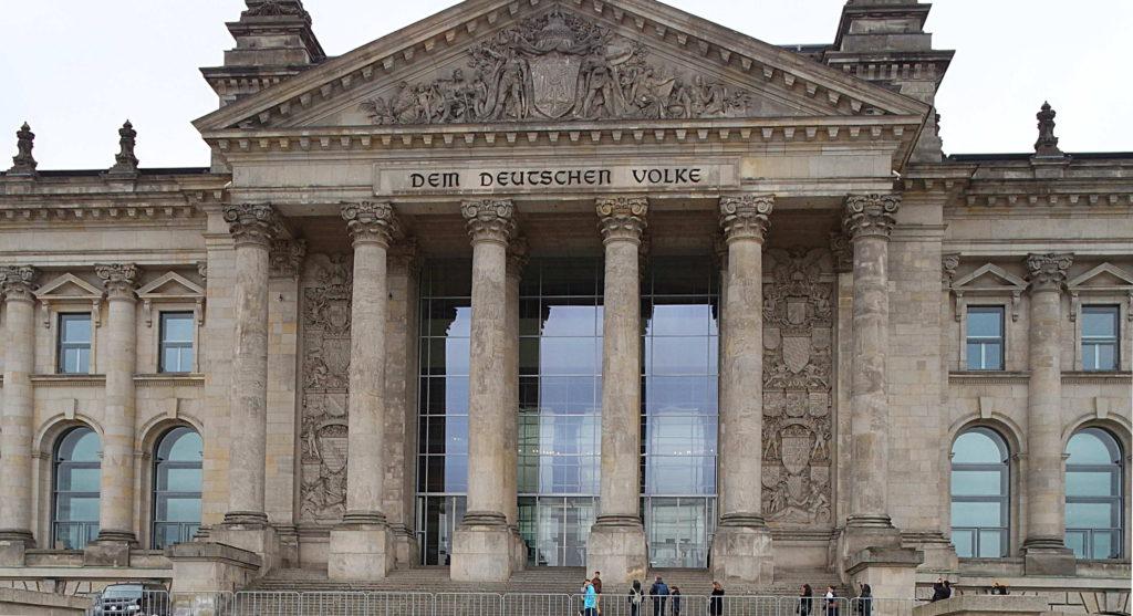 Prédio Parlamento Alemão