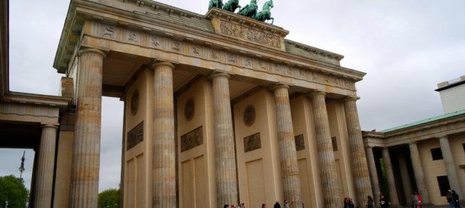 Portão de Brandenburgo, em Berlim