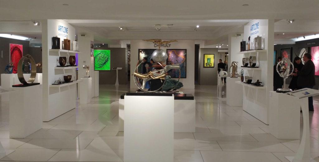 Uma das muitas galerias da Harrods