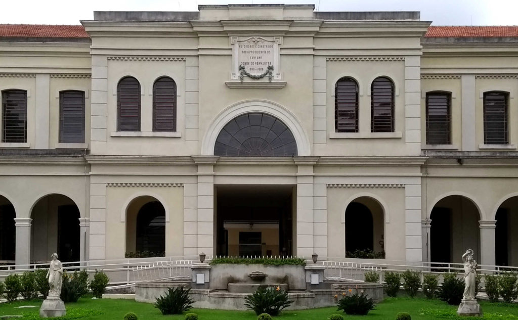 Prédio do Museu da Imigração, antiga Hospedaria de Imigrantes