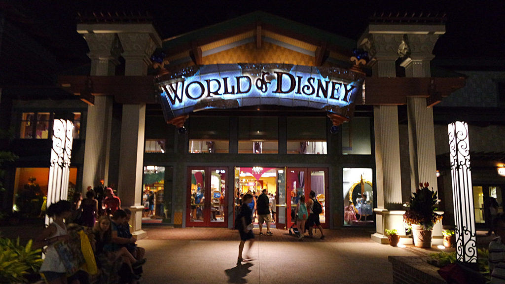World of Disney, no Disney Springs