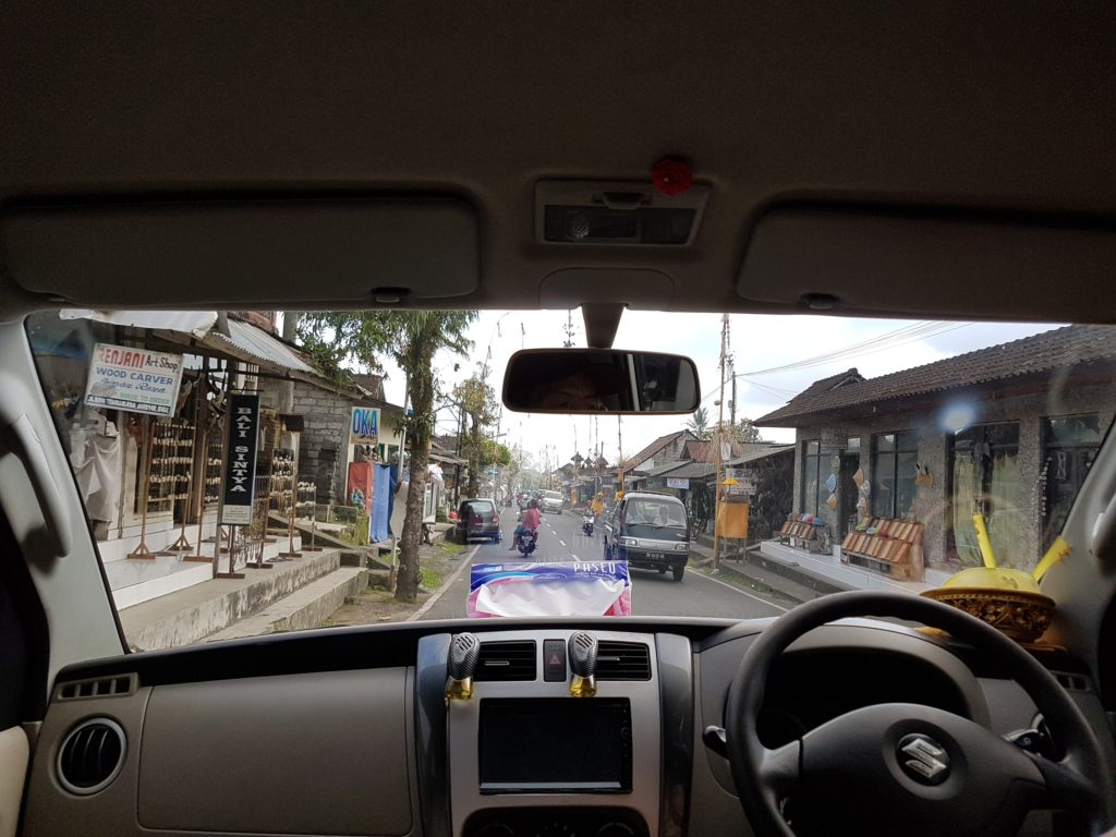 Motorista em Bali