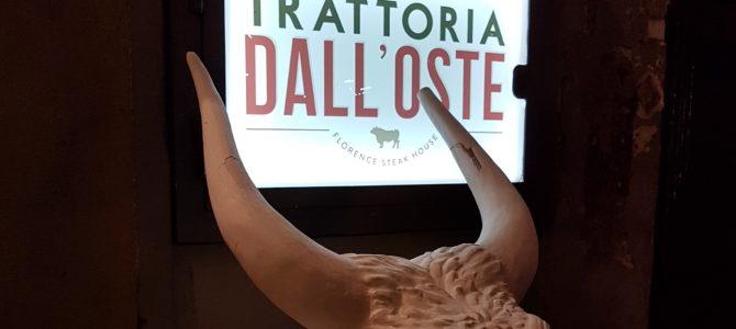 Trattoria Dall'Oste – Um ótimo restaurante em Florença