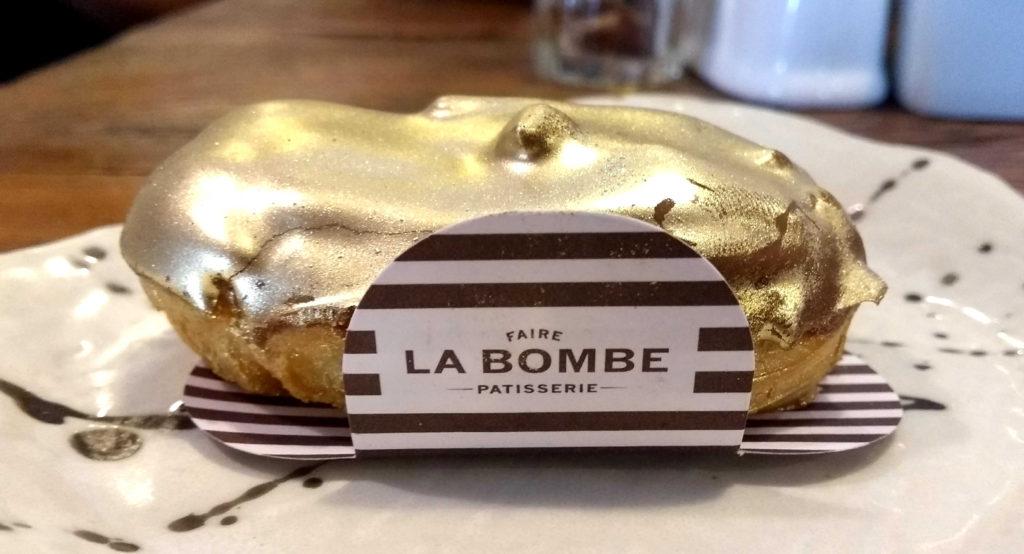 … e a bomba deliciosa da Faire La Bombe Patisserie, em Pinheiros