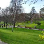 Princess Street Gardens, em Edimburgo