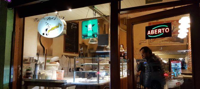 Pedaço da pizza da Rua Augusta– simples e saboroso!
