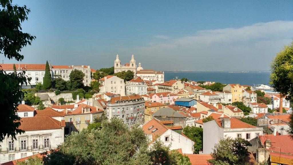 Vista Castelo de São Jorge